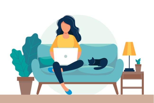 ブログのメリット⑤:在宅でできる