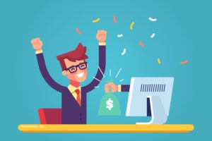 ブログのメリット①:稼げる
