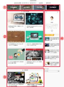 michiブログトップページデザイン