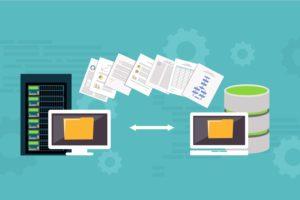 サーバーデータの復元方法