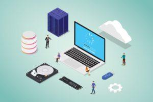 データベースデータの復元方法