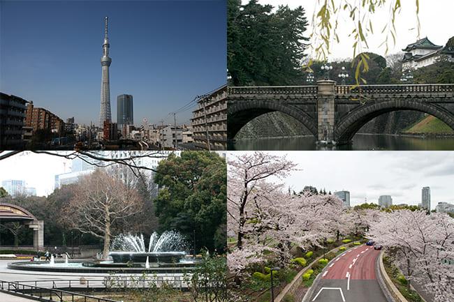 無料写真素材東京デートの素材